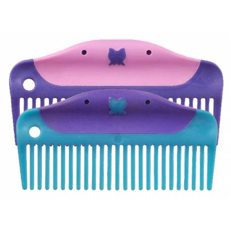 Tough-1 5 Butterfly Easy Grip Combs - 6 Pack