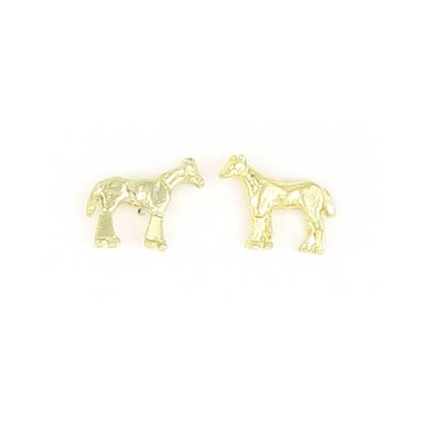 Finishing Touch Standing Horse Earrings