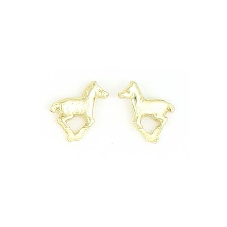 Finishing Touch Running Pony Earrings