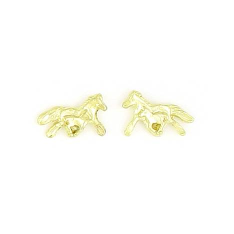 Finishing Touch Trotting Mare and Foal Earrings