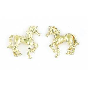 Finishing Touch Prancing Horse Earrings