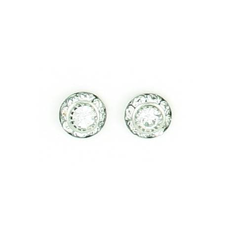 Finishing Touch Mini Rondelle Earrings