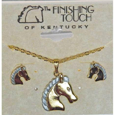 Finishing Touch 2-Tone Regal Horse Head Gift Set