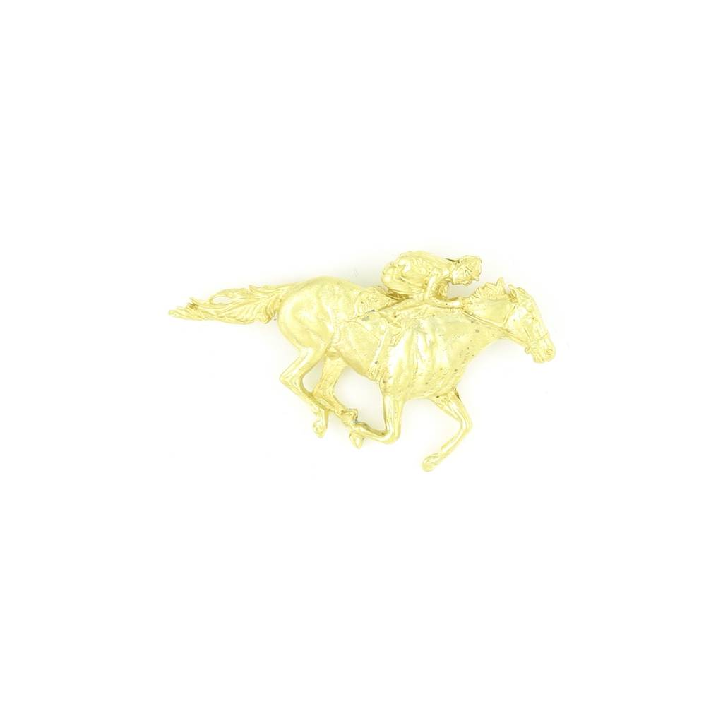 Finishing Touch Thoroughbred Racer Pin