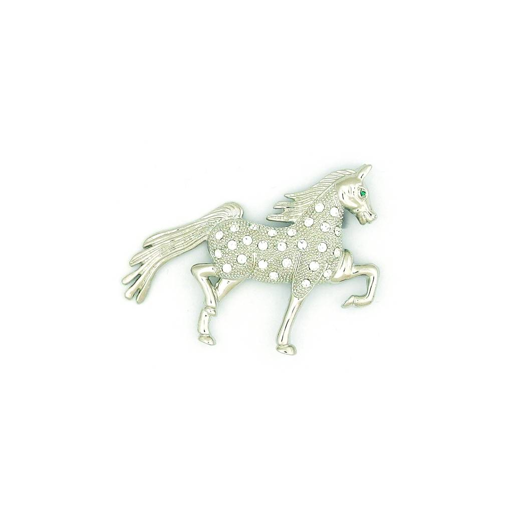 Finishing Touch Saddlebred Crystal Stone Pin