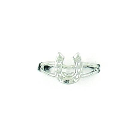 Finishing Touch Single Horseshoe Adjustable Ring