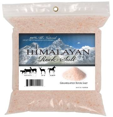 100 Natural Himalayan Rock Salt Granules