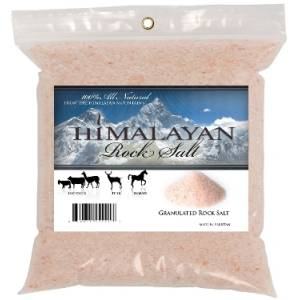 100% Natural Himalayan Rock Salt Granules