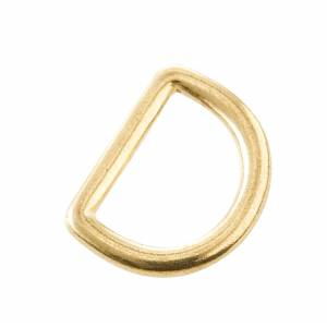 Brass Saddle Dee Ring-1