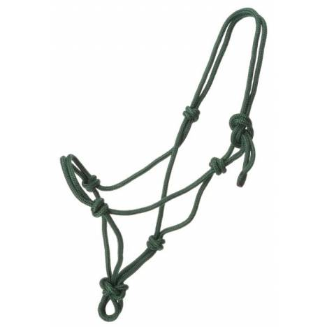 Tough-1 Two-Tone Poly Rope Tied Halter