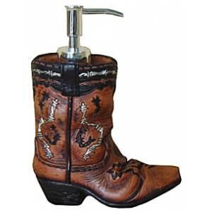 Gift Corral Cowboy Boot Soap Dispenser