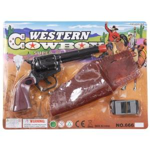 Gift Corral Pistol & Holster Set