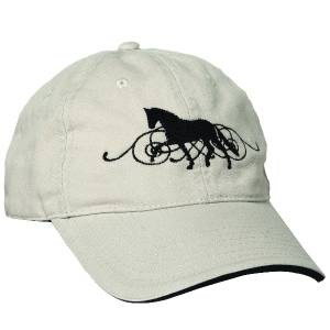 Kelley Dressage Scroll Cap - Ladies