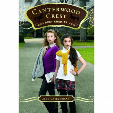 Best Enemies-Canterwood Crest Series by Jessica Burkhart