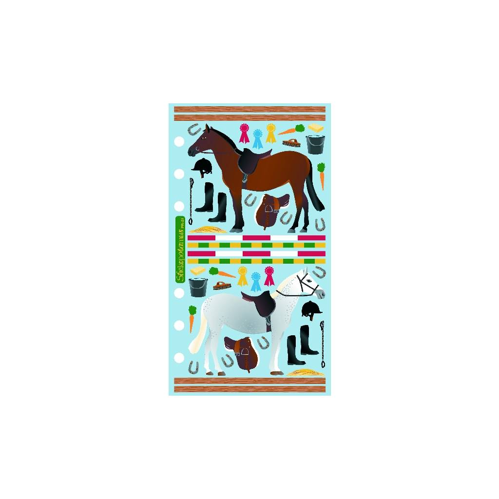 Kelley Classic Stable and Jumps Stickers