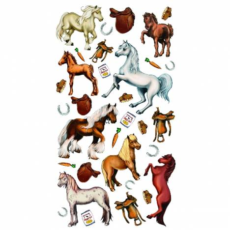 Kelley Horses and Carrots Stickers