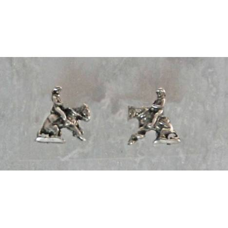 Finishing Touch Reining Horse Earrings