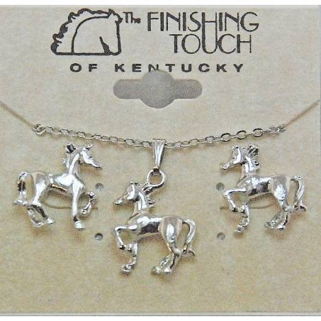 Finishing Touch Prancing Horse Gift Set