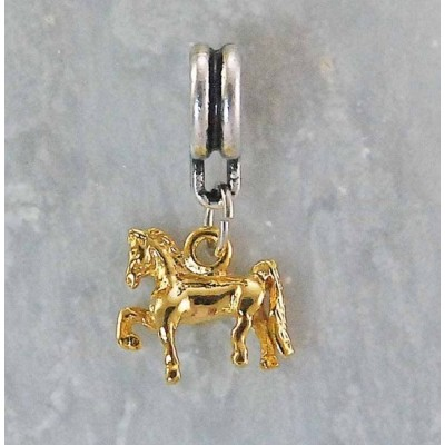 Joppa 2-Tone Dangle Bead - Saddlebred