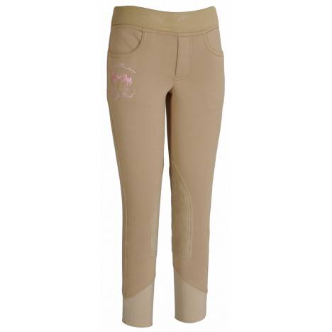 Equine Couture Kids Riding Club Pull On Riding Breech