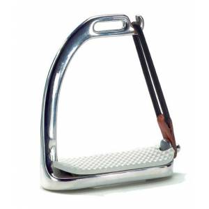 Stainless Steel Peacock Safety Stirrup Irons