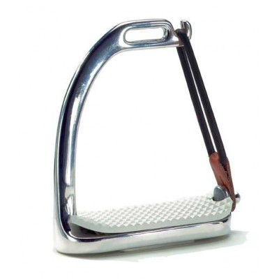 Union Hill Stainless Steel Peacock Safety Stirrup Irons