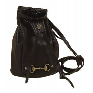 Tory Leather Miniature Duffel Bag With  Snaffle Bit