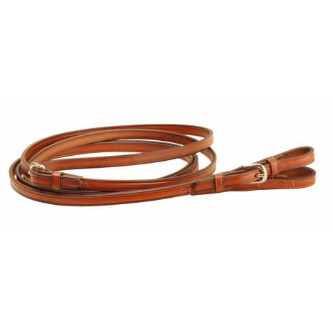 Tory Leather Single Ply Reins - Buckle Bit Ends