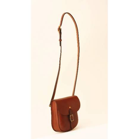 Tory Leather English Sandwich Box Shoulder Bag