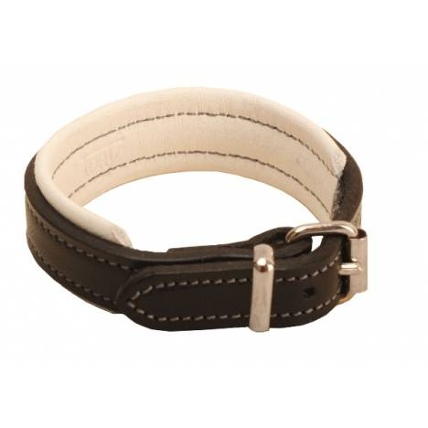 "TORY LEATHER 1/2"" Padded Leather Bracelet with Nickel Buckle"