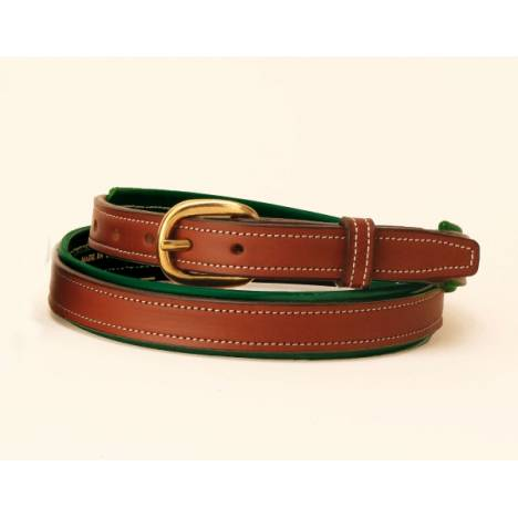 "TORY LEATHER 3/4"" 2-Tone Padded Belt"