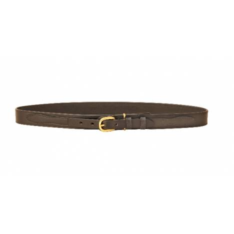 "TORY LEATHER 1 1/4"" Ranger Belt with Brass Buckle"
