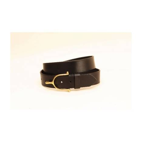 "TORY LEATHER 3/4"" Belt with Spur Buckle"