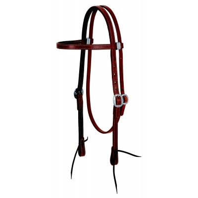 Weaver Leather Protack Chap Lined Browband Headstall