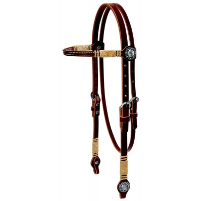 Weaver Leather Browband Headstall With Accents