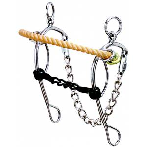 Weaver Leather Combo Sweet Iron Rope Nose Gag Hack
