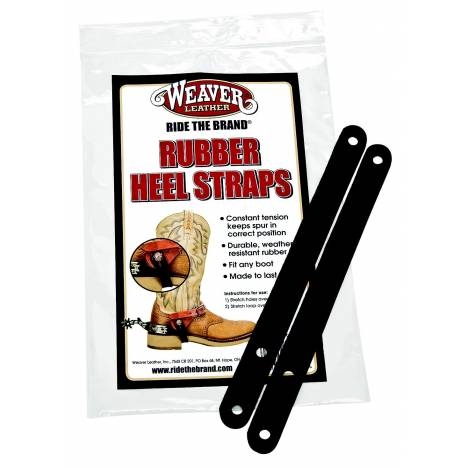 Weaver Leather Rubber Heel Straps