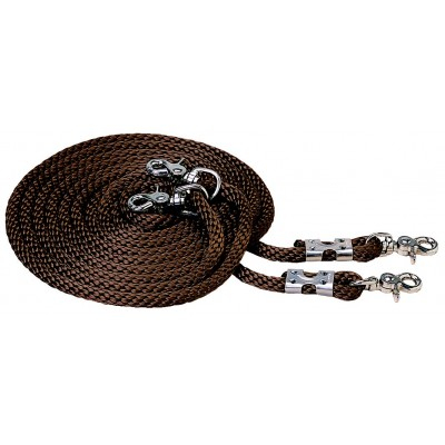 Weaver Leather Poly Rope Draw Reins Equestriancollections