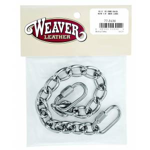 Weaver Leather Curb Chain With  Quick Links