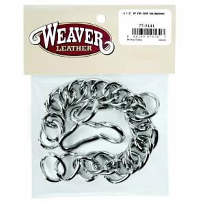 Weaver Leather English Curb Chain With  Hooks