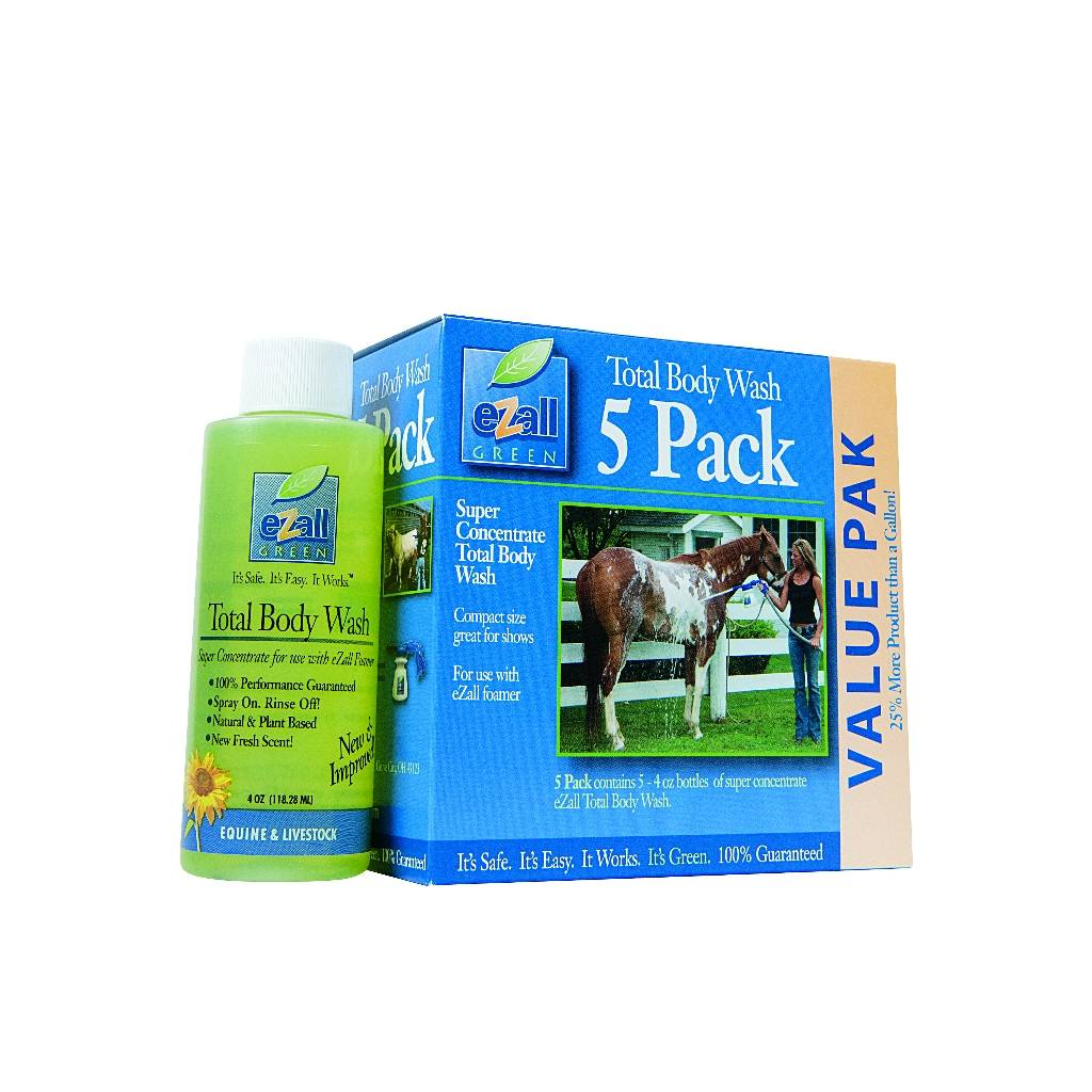 eZall Super Concentrate Total Body Wash