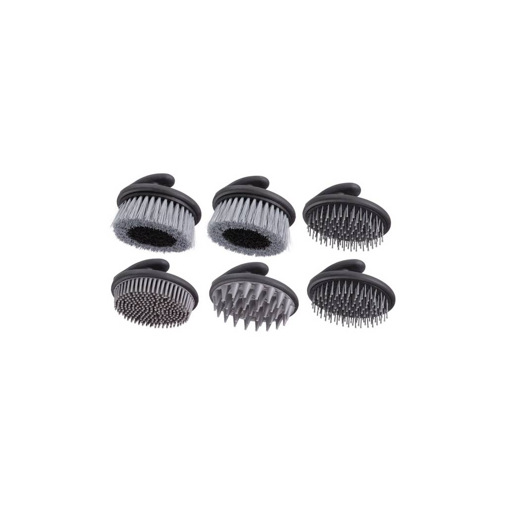 Palm Grip Brush Collection - 6 Piece