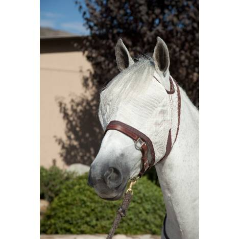 Kensington Natural Collection Protective Fly Mask - Web Trim