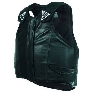 Phoenix Pro-Max Leather Protective Rodeo Vest