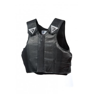 Phoenix Youth Pro-Max Jr. Leather Protective Rodeo Vest