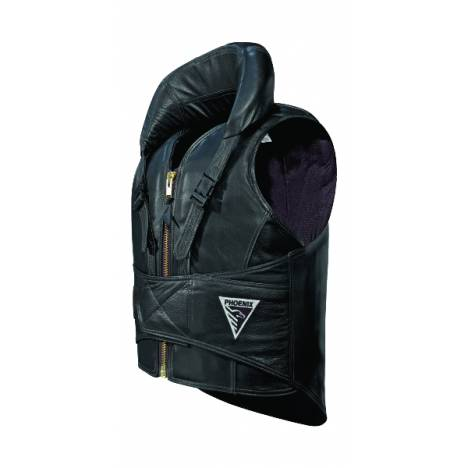 Phoenix Finalist Leather Protective Rodeo Vest