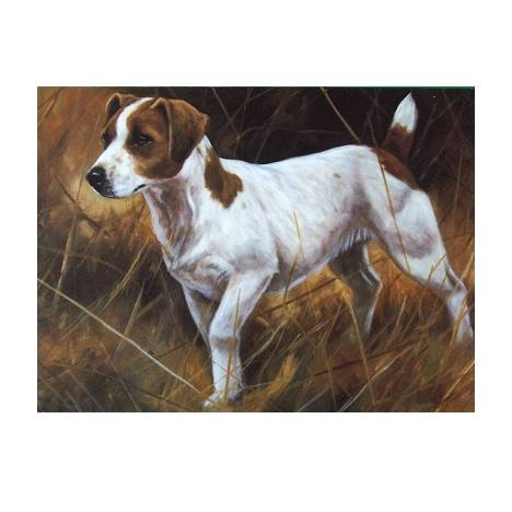 The Operator (Jack Russell) Blank Greeting Cards - 6 Pack
