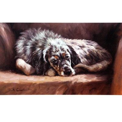 After the Bath By Mick Cawston