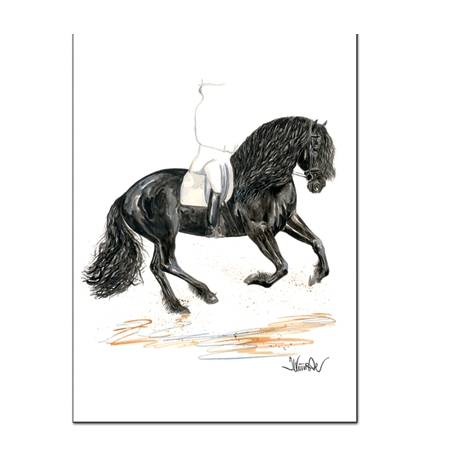 Osiris (Friesian) By: Jan Kunster