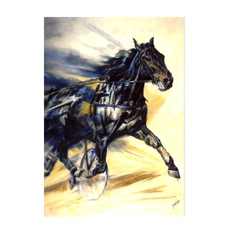 The Trotter Blank Greeting Cards - 6 Pack